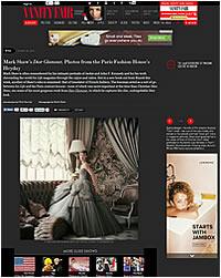 Vanity Fair Online – October 2013