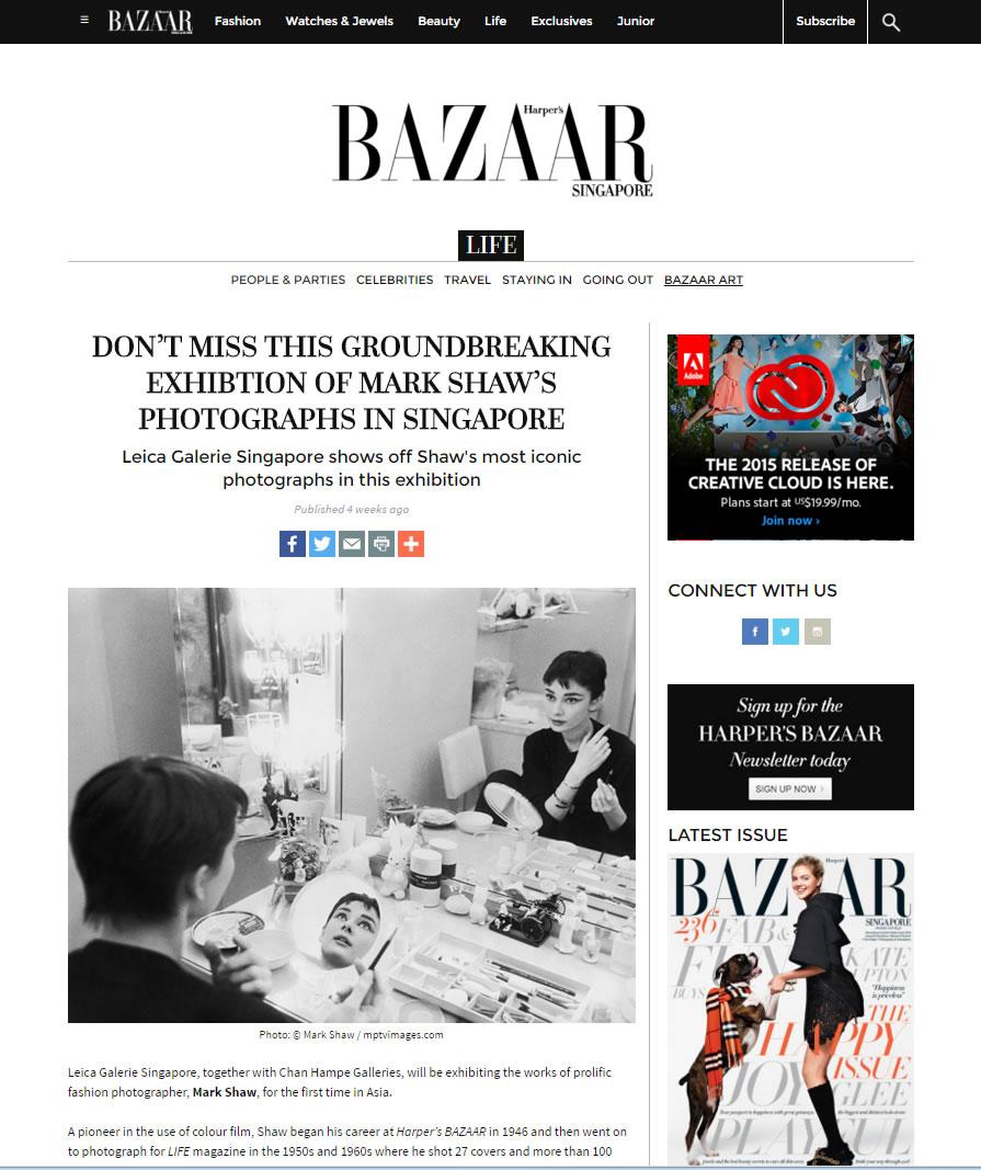Harper's Bazaar – December 2015