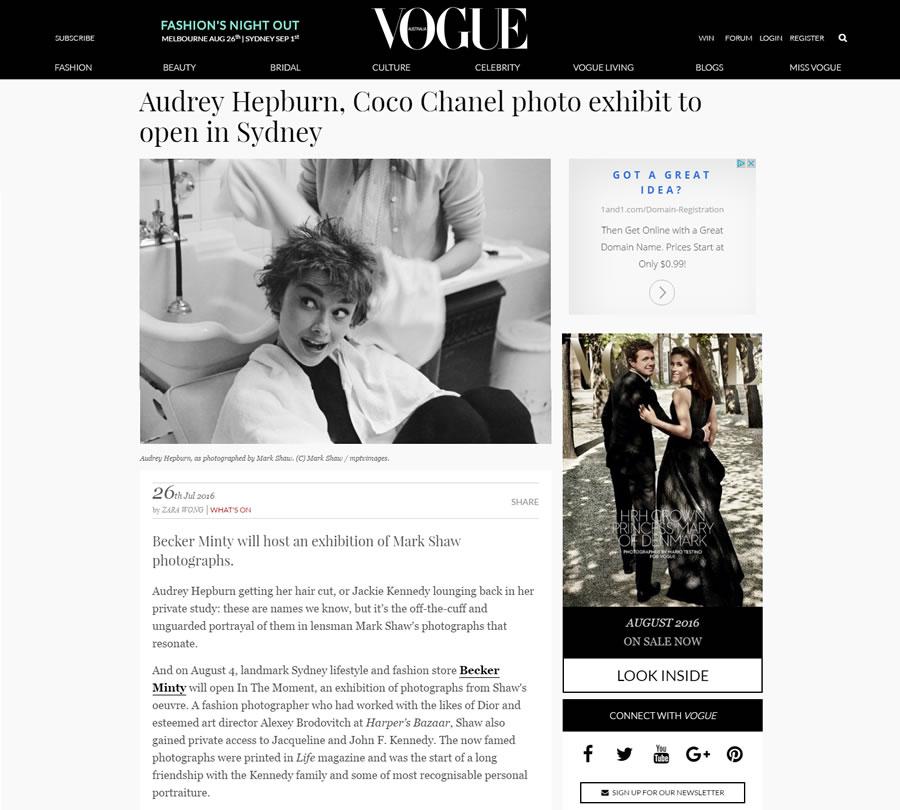 Vogue – July 2016