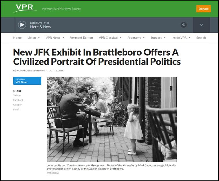 Vermont Public Radio – October 2016