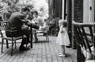 JFK, JBK, Caroline At Breakfast