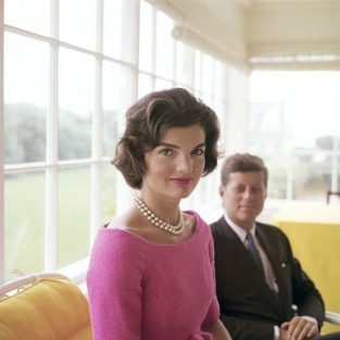 "Jackie Was First Shot By Mark Shaw For A Cover Story In LIFE Published August 24th, 1959. Titled ""Jackie Kennedy—a Front Runner's Appealing Wife"" This Photo Essay Started The Relationship That Resulted In Some Of The Most Famous And Enduring Photos Of The Kennedy Family During JFK's Presidency. The Source For This Image Was A Vintage 2.25"" X 2.25"" Color Transparency."