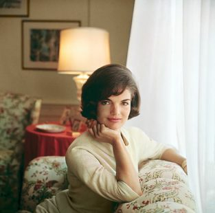 "Kennedy Nb_116-117. This Photo Of Jackie, Taken By Mark Shaw For The Cover Of ""Look"" Magazine In 1961, Has Been Seen Frequently Due To The Fact That It Was Mistakenly Distributed All Over The World By The White House As An ""official White House Photo."" In Fact, Mark Shaw Retained The Rights To All His Photographs, An Unusually Forward Thinking Decision At That Time. The Source Of This Image Was A Vintage 2.25"" X 2.25"" Color Transparency."