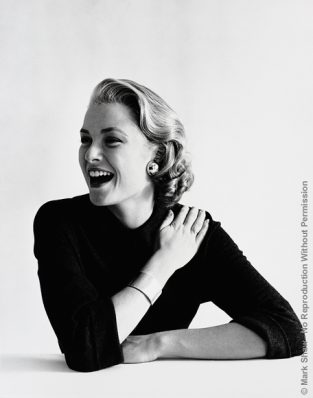 "Grace Kelly Laughing. Grace Kelly As Photographed By Mark Shaw In 1954. The Source Of This Image Was A Vintage 2.25"" X 2.25"" Black And White Negative."
