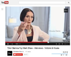Dior, Glamour, Mark Shaw – Dior YouTube Channel