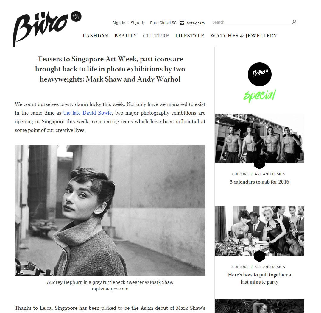 Buro 24/7 – January 2016