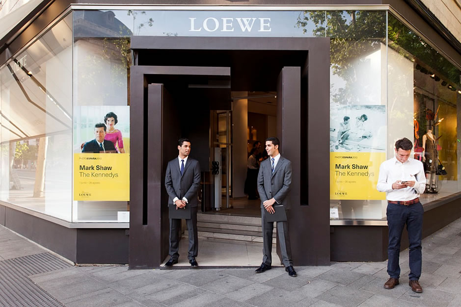 Mark Shaw, The Kennedys. Photo Espana exhibition sponsored by Loewe.  Summer- Fall  2013.  Madrid and Barcelona, Spain.