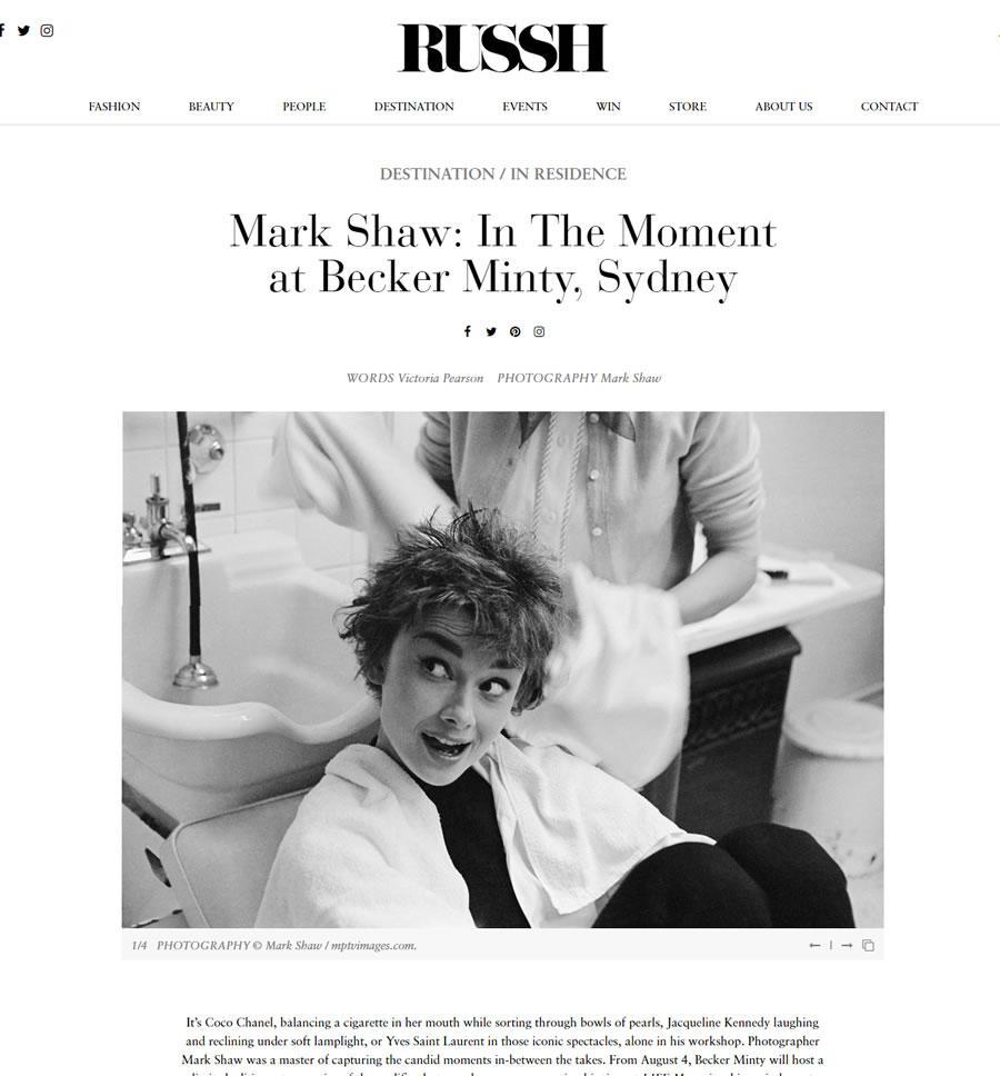 Russh – August 2016