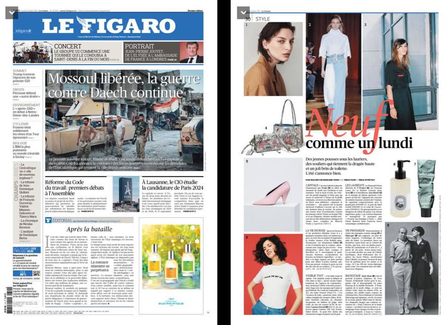 Le Figaro – July 2017