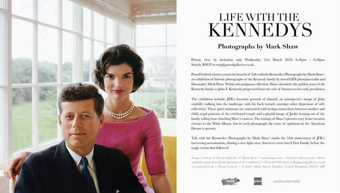 Life With The Kennedys – Proud Gallery, London