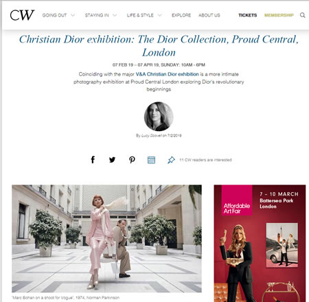 The Dior Collection, Proud Central, London | Culture Whisper