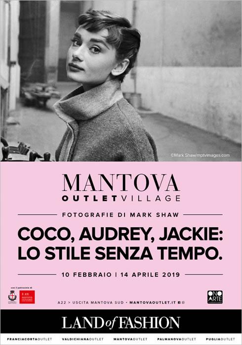 Mantova (Italia): Coco, Audrey, Jackie | February 10 – April 14, 2019