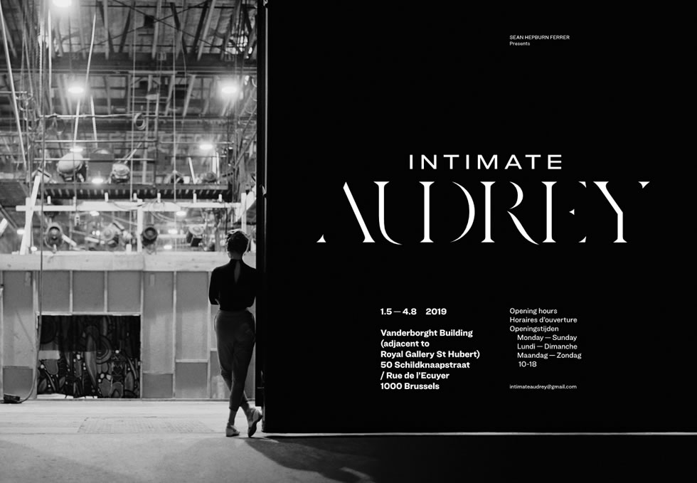 Intimate Audrey, Brussels | May 1 – August 8, 2019